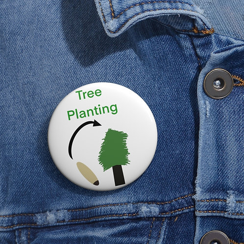 Fiend Scouts - Tree Planting Badge - Pin