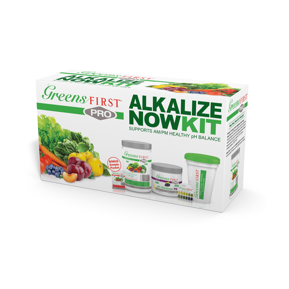 Greens First Pro - Alkalize Now Kit