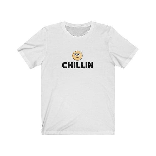 Chillin Smiley - Unisex Jersey Short Sleeve Tee