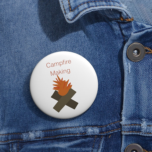 Friend Scouts - Campfire Making Badge - Pin