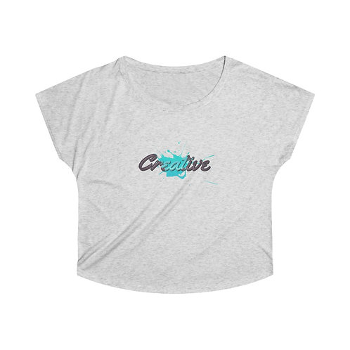 Creative Teal - Women's Soft & Loose Tee