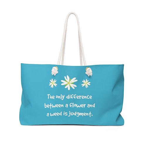 Chickweed - Teal Herb Gathering Bag