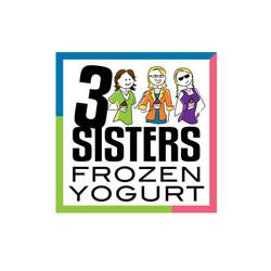 Logo for 3 Sisters Frozen Yogurt