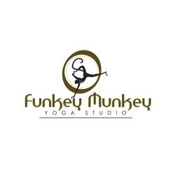 Logo for Funkey Munkey Yoga Studio