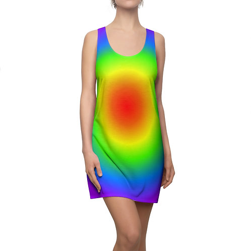 Rainbow Circle - Women's Racerback Dress