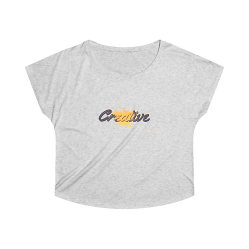 Creative Yellow - Women's Soft & Loose Tee