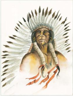 The Last Commanche Chief (Sold)
