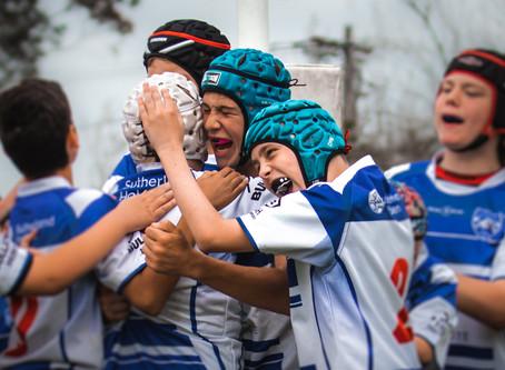 Bluey's Boys Book Grand Final Shot against Titans