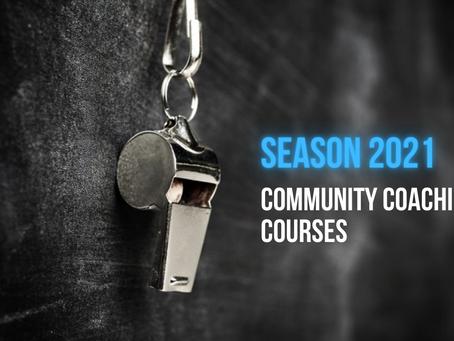 COMMUNITY COACH COURSES