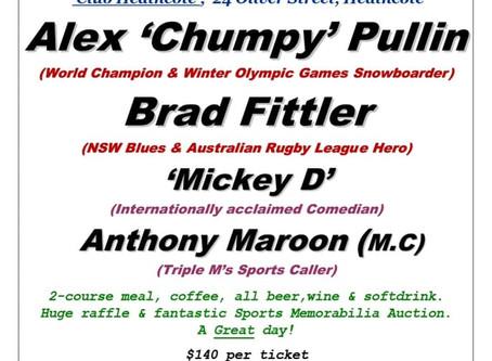 Bosco Bulldogs Sports Lunch Tickets On Sale Now