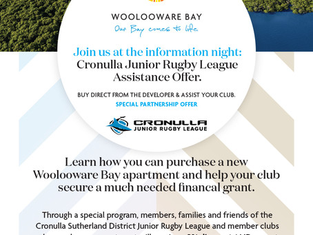 Woolooware Bay Purchase Opportunity