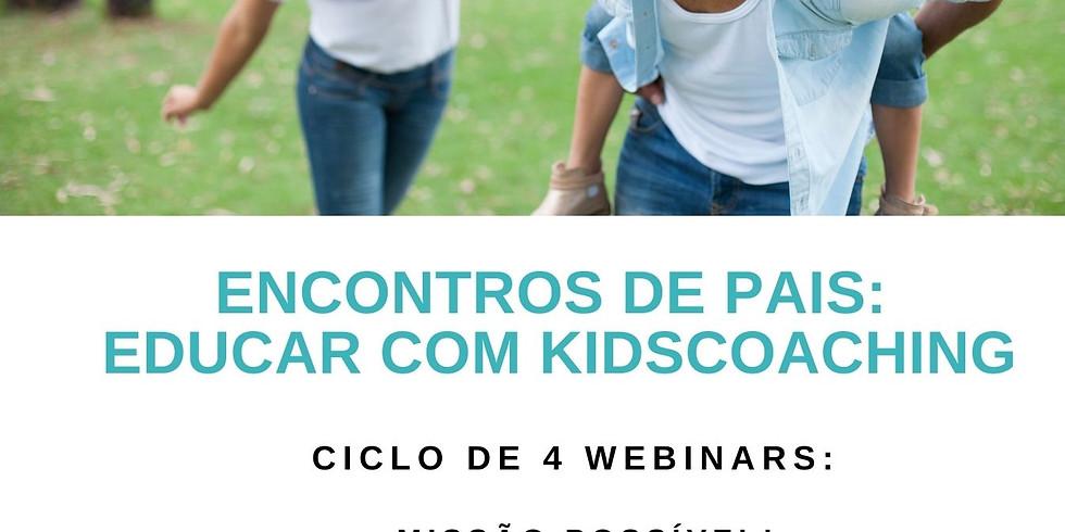 Ciclo de webinars - Educar com kidscoaching