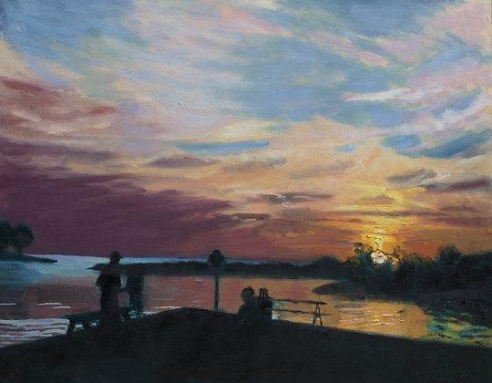 Plein Air Sunset
