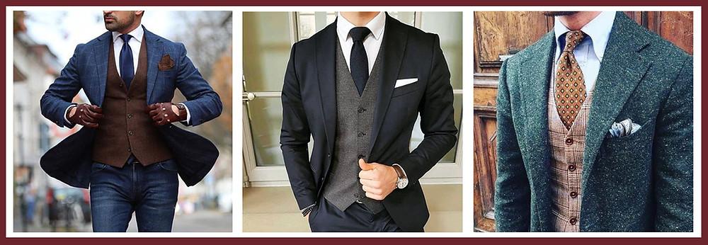 contrasts waistcoats, tailoring, menswear