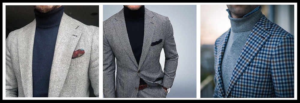 tailoring, rollneck, jumper, winter suits