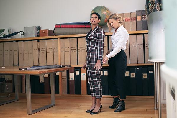 Bespoke Womenswear Suit