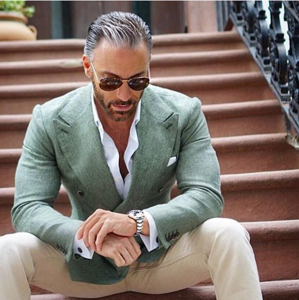 bespoke, linen jacket, suit, tailoring, London