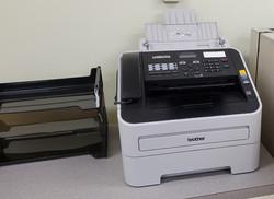 Desktop fax machine - $25