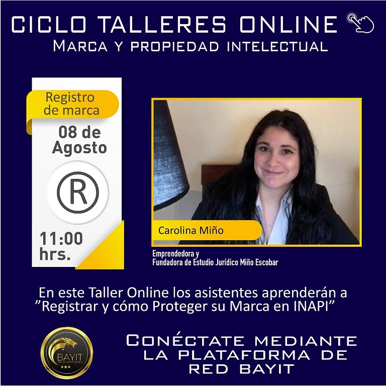 Taller Online: Marca y Propiedad Intelectual