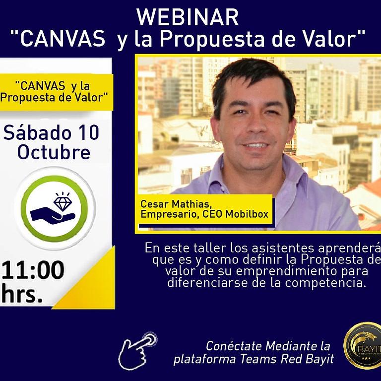 Webinar Online: CANVAS y la Propuesta de Valor