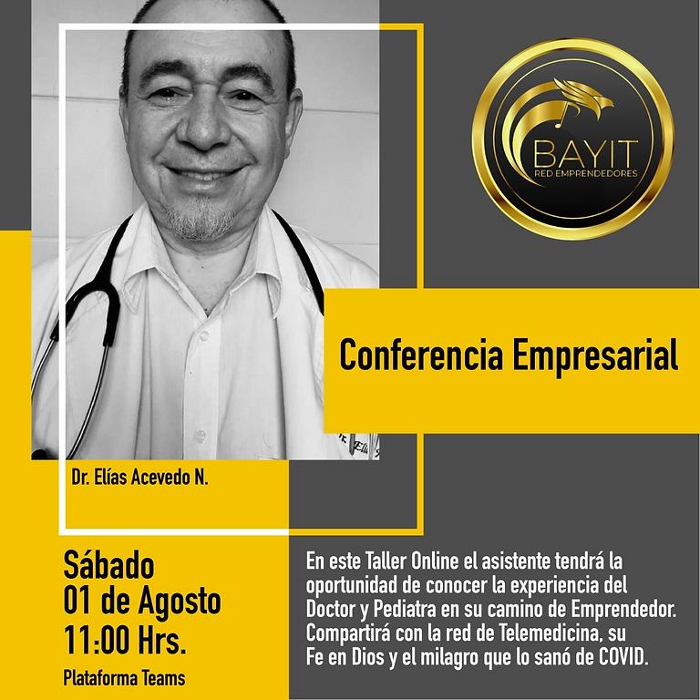 Conferencia Online: El Camino de Fe de un Médico Emprendedor