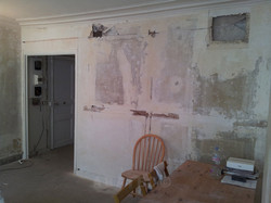 demolition avant renovation
