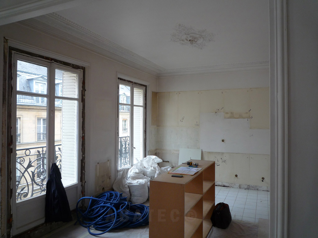 Isoler Un Appartement Ancien prix rénovation appartement haussmannien paris | les
