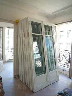 fenêtres appartement haussmannien