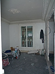 rénover un logement haussmannien à Paris