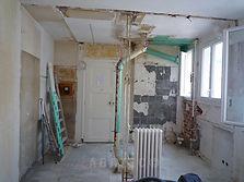 rénovation studio démolition