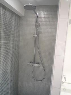 création douche à l'italienne