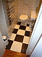 rénovation studio WC