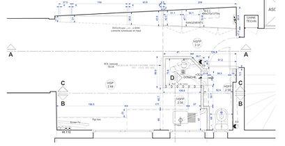renovation studio plan