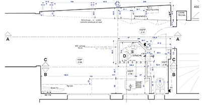 renovation studio plan