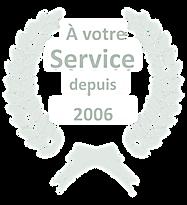 A VOTRE SERVICE DEPUIS 2006.png