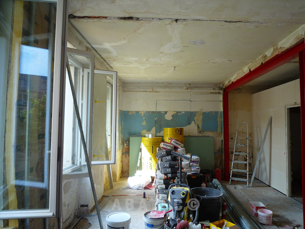 avant travaux de renovation