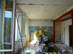 avant travaux de renovation