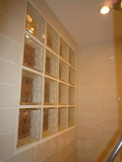 Maçon rénovation : brique de verre
