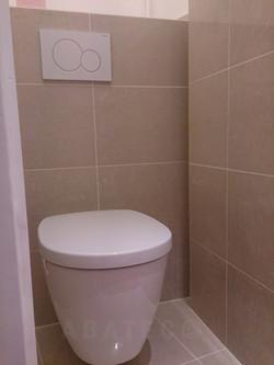 WC rénovés et carrelés