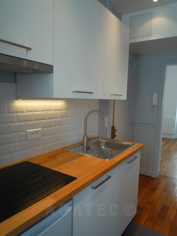 travaux : renovation appartement