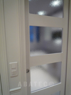 fabrication-porte-bois-vitree-coulissante