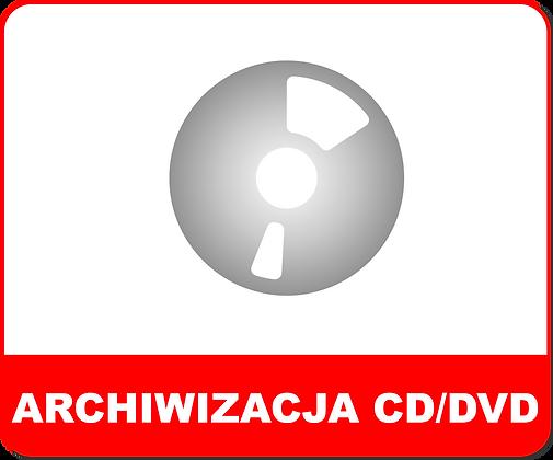 ARCHIWIZACJA CD / DVD