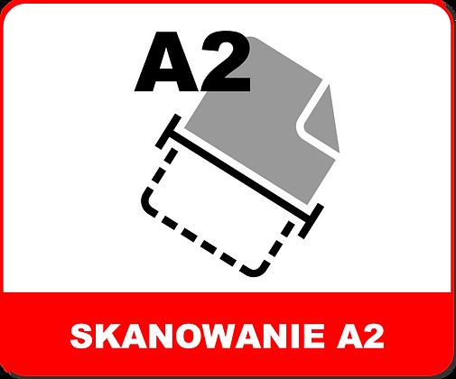 SKANOWANIE WIELKOFORMATOWE A2
