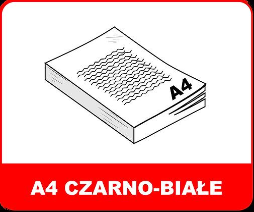 A4 CZARNO-BIAŁE
