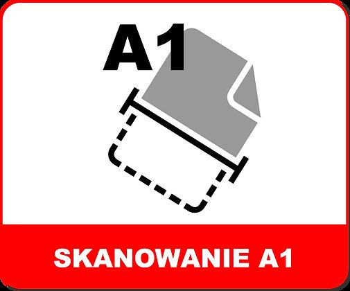 SKANOWANIE WIELKOFORMATOWE A1