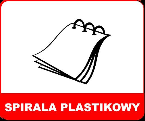 SPIRALA PLASTIKOWA
