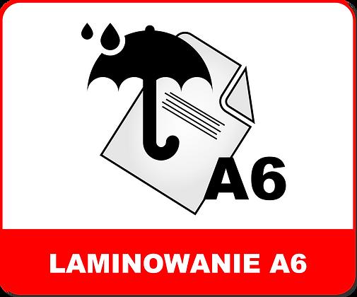 LAMINOWANIE A6
