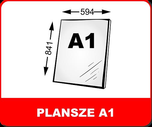 WYDRUKI PLANSZ NA PIANKACH / PCV A1