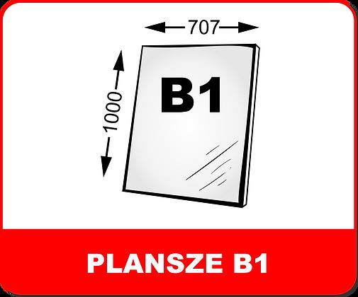 WYDRUKI PLANSZ NA PIANKACH / PCV B1
