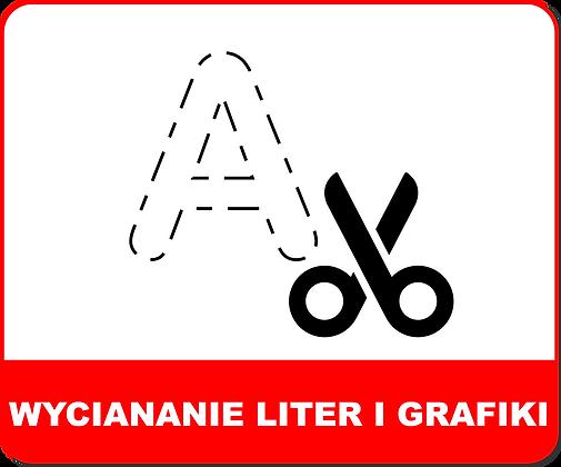 WYCINANIE OPTYCZNE LITER GRAFIKI